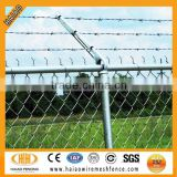 Best selling high quality galvanized decorative barbed wire fencing