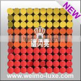 2015 Patent Glitter Decorative Disc Panel Backdrop For Bar Counter Decoration