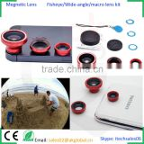 colorful mobile phone camera lens magnetic fisheye lens mobile photography lens for iPhone iPad iPod Samsung HTC LG Huawei