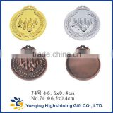 74# High Quality gold silver bronze sports factory directly sale metal craft gift prize award souvenir bowling medal