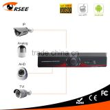 16 channel dvr ,network dvr Support P2P PTZ RS485 Port,h.264 cctv 4ch dvr 4 in 1 dvr cms free software