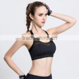 Great Plain plus size sport exercise black net sexy bra designs                                                                                                         Supplier's Choice