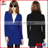 New arrival Blazer women long blazer solid color lady blazer suits for woman wear clothing china suppliers