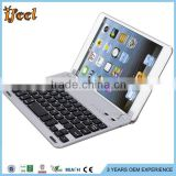 Bluetooth ABS keyboard case for samsung galaxy note 8.0 N5100
