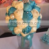 2015 LATEST ARRIVAL Artificial Flowers Fine Design beautiful bridal accessories bouquet china supplier