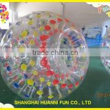 1.0mmTPU zorb ball price / roll inside inflatable ball /human bubble ball
