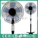 16 inches brand professional electric stand cooler fan with cold wind for home equipment