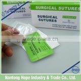 1/2circle suture needles with monofilament thread