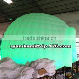 inflatable dome tent with LED inflatable igloo tent with LED inflatable party tent with LED