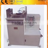 Protective film coating/laminating machine for PLASTIC PARTS like refrigerator drawer
