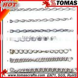 Guangzhou custom thin silver chain necklace designs