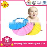 protective baby shower cap / bathing cap / shampBaby care Bath Cap shampoo baby shower cap with EN71