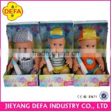Plastic qute new born baby doll for babies