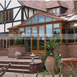 beautiful aluminium thermal break greenhoue or conservatory profiles