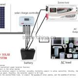 48V 4000W Off grid solar system build with MPPT solar system