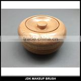 Original Wooden Shaving bowl Shaving Soap Bowl Shave Wooden Bowl with Lid