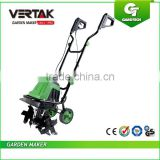 Corded Electric Tiller and Cultivator,Garden 400MM Electric Cultivator,1400W Electric Power Tiller