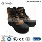 Mens Suede Leather Waterproof Ankle Pac Boots