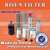 Hydraulic oil filter universal loader excavator,forklift hydraulic oil fuel/air filters of auto lube filters