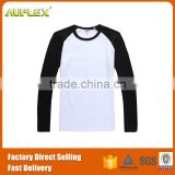 Long Sleeve Thick Sublimation t shirt Design Wholesale Blank Maternity t shirts