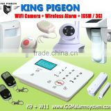 King Pigeon Factory alarm detectors wireless outdoors home intruder alert alarm system use gas detecto K9
