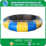 Factory Custom Water Paly Equipment Inflatable Air Bouncer Water Trampoline Jumping Bed
