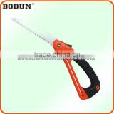 B9007 Most popular red with black rubber handle folding saw&pruning saw&hand saw