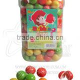 Multicolour Watermelon Shape Fruity Flavour Bubble Gum