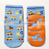 Cartoon Tube Baby Floor Shoes Newborn Anti Slip kids Rubber Soles Baby Socks