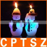 Candle Christmas Snowman Candle Christmas candle supplies candles