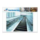 35 Degree Automatic Mechanical Escalator , Commercial VVVF Mall Escalator