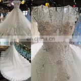 LS00220 cap sleeves beaded latest dress designs arabic bridal wedding cocktail gown dresses bridal