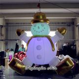 Hanging Led Inflatable Lighting Snowman for Indoor Christmas Decoration