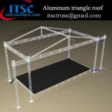 Aluminum triangle roof structure