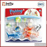Kids plastic fishing tackles toy