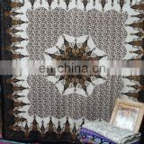 tapestry mandal wall hanging bed spread bed sheet yoga sheet ,indian tapestry table cover curtains screen printed tapestry heipp