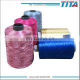 wholesale high tenacity polyester thread with all colors/filament yarn/polyester