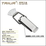 TANJA A201B Cheap stainless steel latch fastener spring lockable hasp