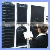 Removable black chalkboard Pvc chalkboard sticker