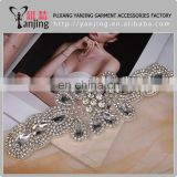 Factory main product !Rhinestones Beaded Applique Wedding For Bridal Dress Handmade