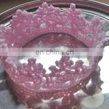 BABY BOY/GIRL CROCHET CROWN For PHOTO PROP HEADBAND CHRISTENING/BIRTHDAY