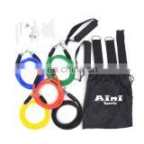 ANY-005 11pcs resistance bands,ftiness equipment,leg resistance band exerciser