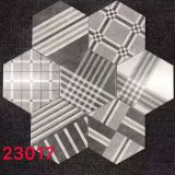 Fabric Effect 8x9in Concrete Hexagon Tile Patterns