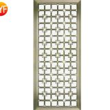 JYFQ0215 laser cutting stainless steel home room Divider screen