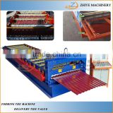 aluminium roofing tiles cold making machine/Trade Assurance 850 corrugated iron roof tile roll forming machine