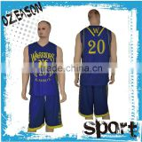 2016 Manuefacturer wholesale latest best basketball jersey design with logo and number