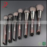 luxurious professional makeup brushes wood handle ,custom makeup brush set cosmetic tool kits , make up brush set you own brancd