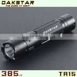 DAKSTAR TR15 CREE XP-G R5 LED 385LM 18650 Aluminum Police Rechargeable Magnet control Switch Long Runtime Flashlight