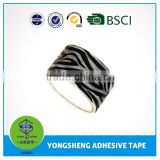 Yiwu patterned duct tape with reinforce for decoration