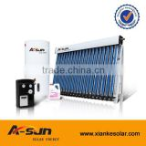 100L Balcony split solar system use heat pipe solar collector made in Haining A-sun solar energy